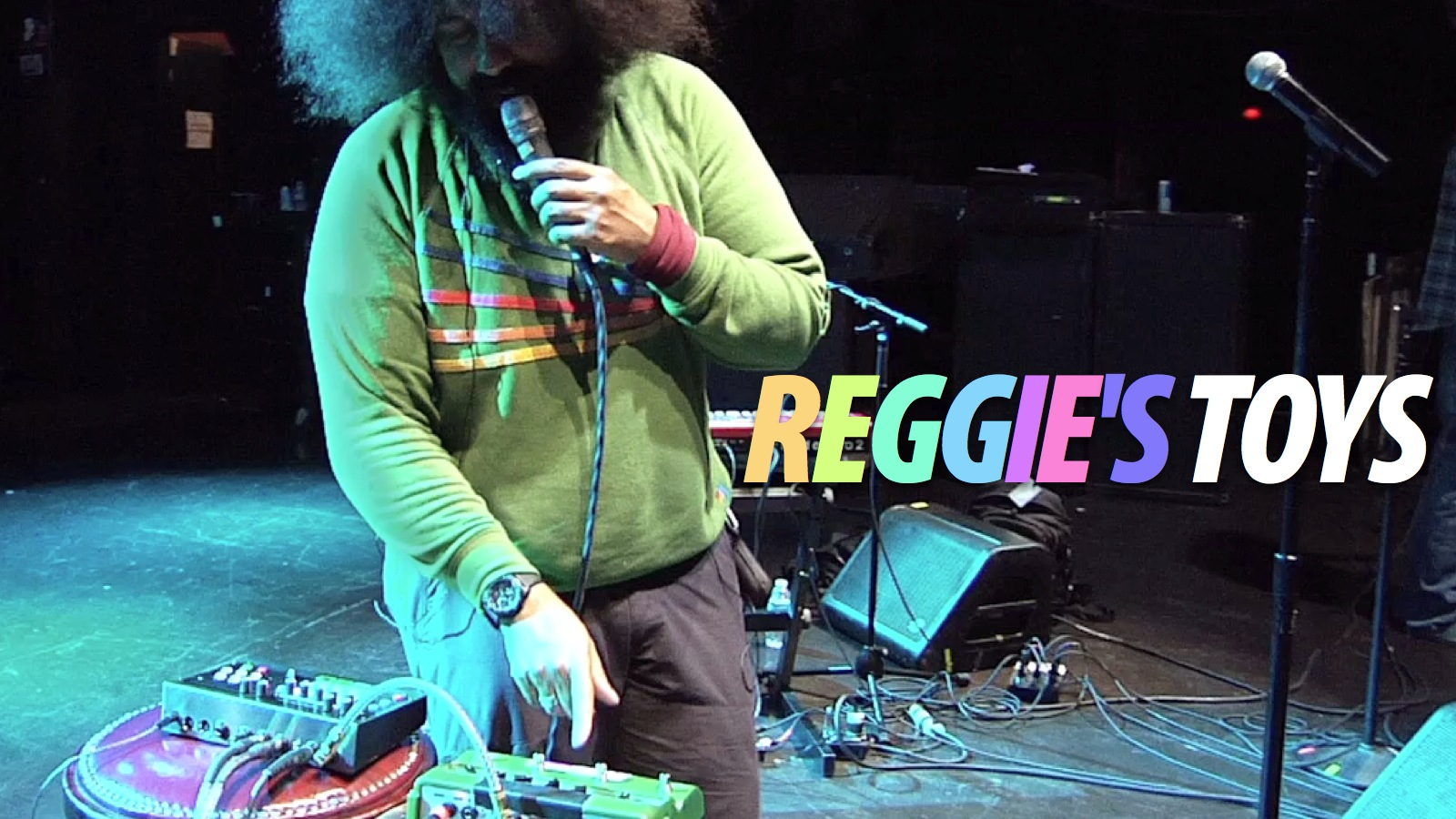 Click here to read The Gadgets of Music Genius Reggie Watts