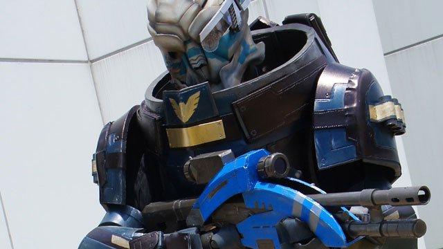 Insane Garrus Cosplay Will Calibrate Your Eyeballs