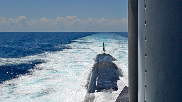 Inside the Navy's Newest Spy Sub