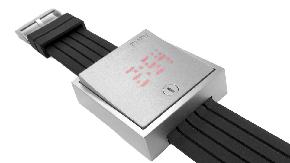 Giant Wall Switch Watch Only Illuminates The Time