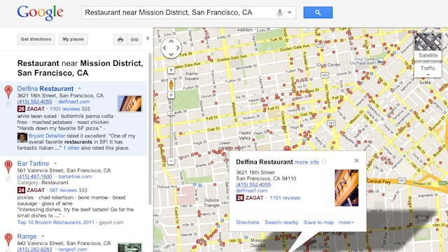 Click here to read Google+ Local Integrates Zagat and Google+ Friend Reviews Into Google Maps Search Results