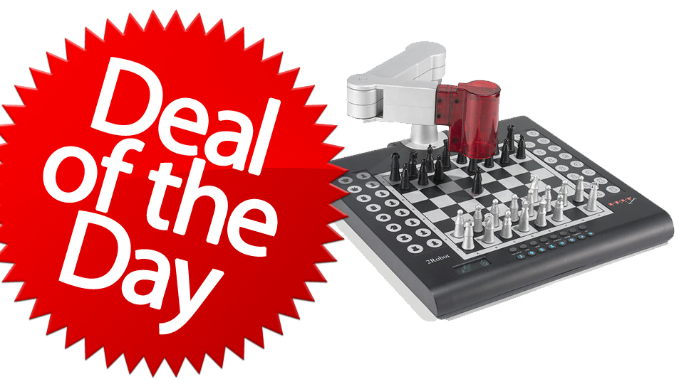 This Robotic Chess Companion Is Your Humans-Are-Obsolete Deal of The Day [Dealzmodo]