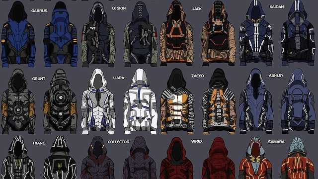 BioWare To Make Fan-Designed Mass Effect Hoodies a Reality
