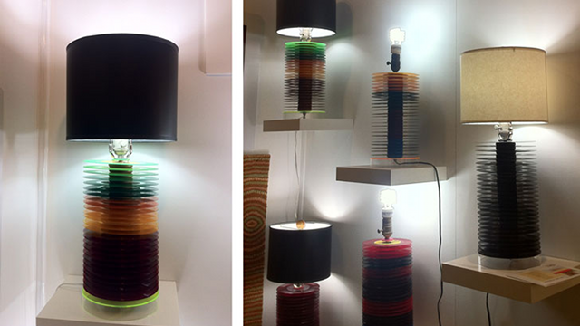 Click here to read Recycled Vinyl Records Become Bases for Beautiful Lamps
