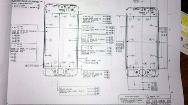 Rumourmodo: Leaked Schematics Appear To Confirm 4-Inch iPhone