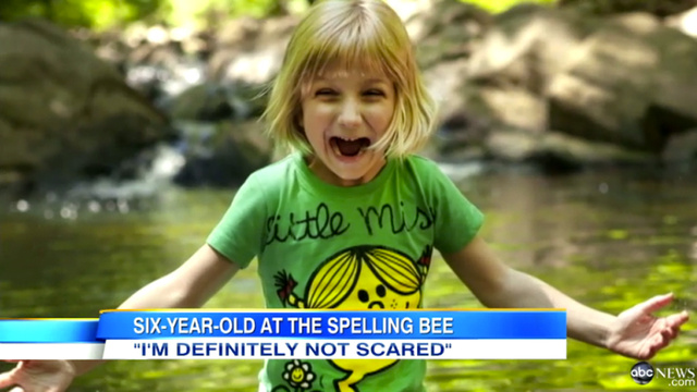 6-Year-Old Genius Ends Spelling Bee Reign, Stumbles on 'Ingluvies'