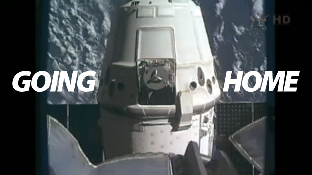 Dragon Spaceship Successfully Returns To Earth