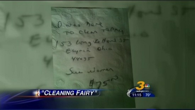 Click here to read Rogue Cleaning Lady Breaks Into Homes at Night, Does Unsolicited Housework