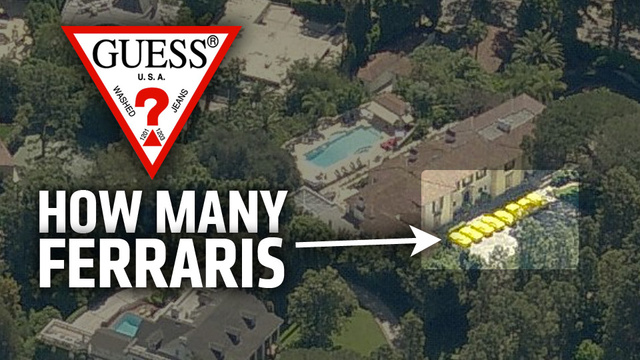 The Beverly Hills Mansion With 10 Ferraris In The Driveway Is For Sale