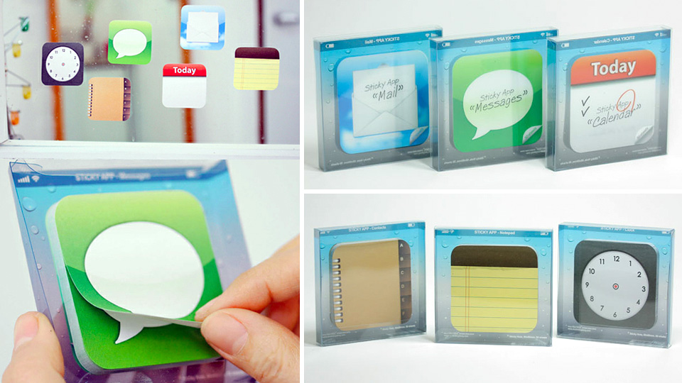 Click here to read App Icon Sticky Notes Turn Your Whole World Into iOS
