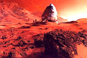 Could SpaceX land the first humans on Mars?