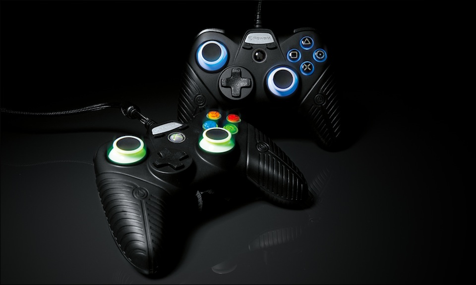 fusion xbox controller powera pro gaming controllers sad tiny feel 360 ps3 e3 thumbsticks makes competitive ign its grips