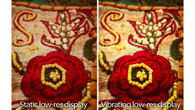 Low-Res Screens Can Transform into Better-Looking Hi-Res Displays With Simple Vibration