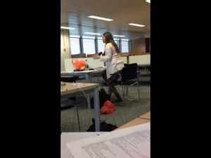 Girl Leaves Laptop Open in Quiet Library, Porn Plays at Full Volume, Mortification Ensues