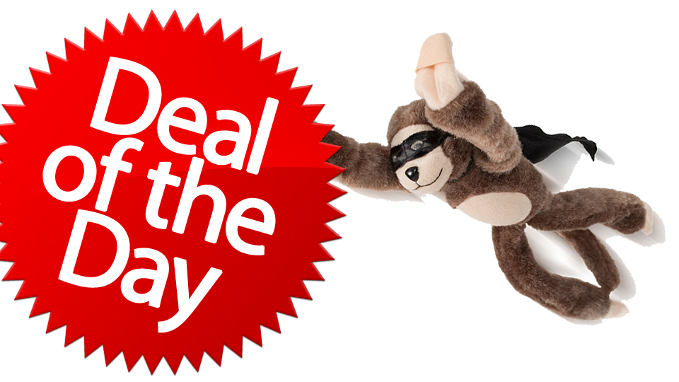 This Flying Monkey Slingshot Is Your Better-Than-Thumbs Deal of the Day [Dealzmodo]