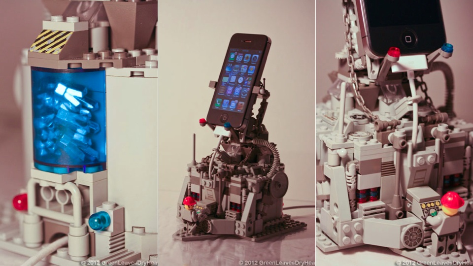 Every iPhone Deserves An Awesome, Crystal-Powered Lego Throne