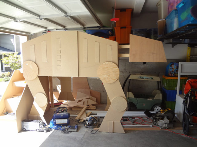 AT-AT Bunk Bed is the Best Bunk Bed