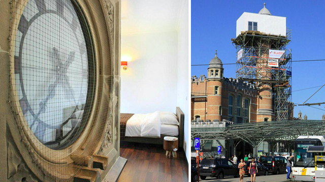 You Will Never Sleep Through This Hotel's Gigantic Alarm Clock