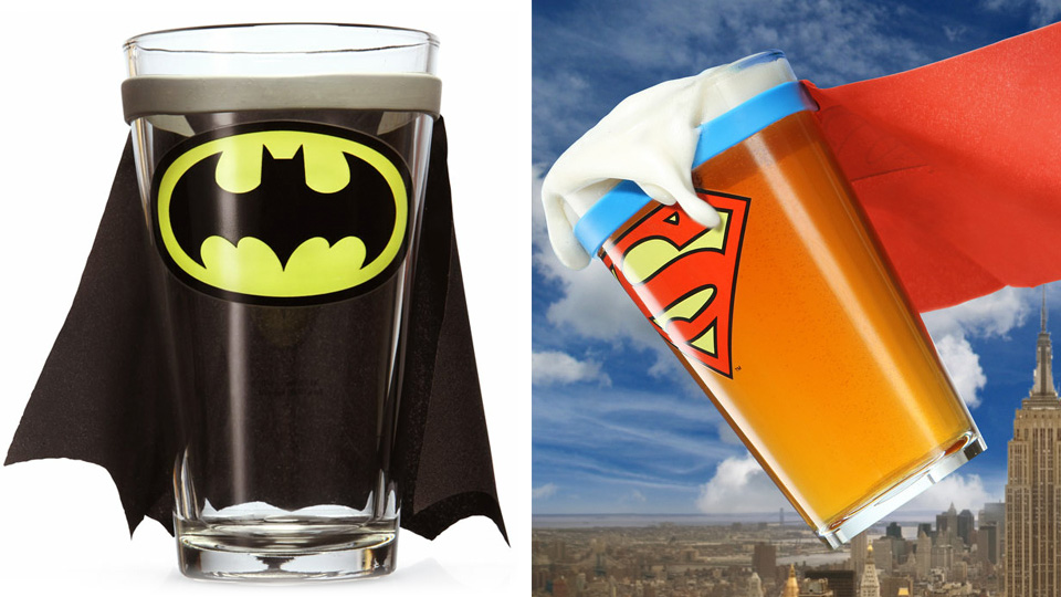 Caped Pints Will Only Add To Your Drunken Delusions Of Being A Superhero