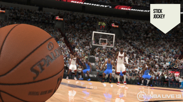 First Look at NBA Live 13 Shows a Game Making Great Passes—Even the Bad Ones