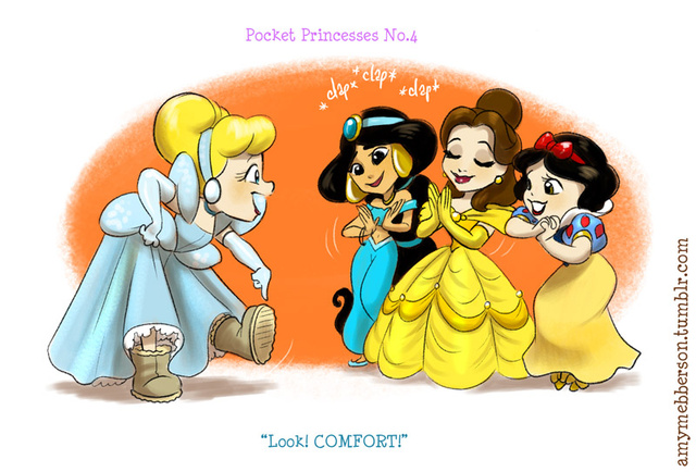 Disney princesses don't always get along in these adorable comics