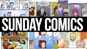 Sunday Comics: Quit Staring at My Chest