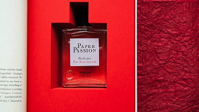Click here to read Spritz this perfume on your e-reader to make it smell like a paper book