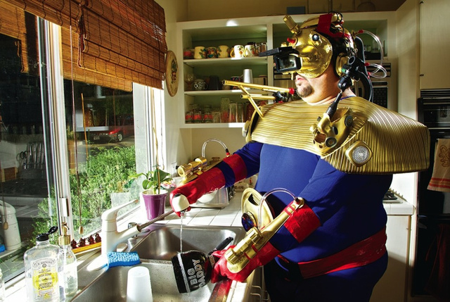 The not-so-glamorous lives of superheroes in the real world