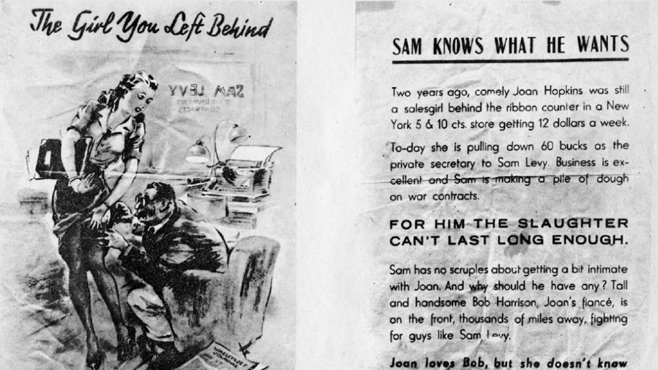 Click here to read These Nazi Propaganda Leaflets Dropped on American Soldiers Are Nauseating