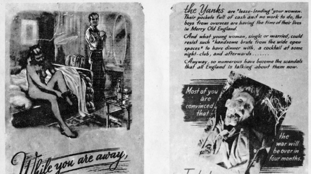 These Nazi Propaganda Leaflets Dropped on American Soldiers Are Both Nauseating and Fascinating
