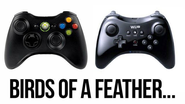 The Wii U Hardcore Controller Looks Familiar