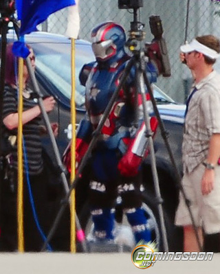 Iron Man 3 Set Photos Gallery
