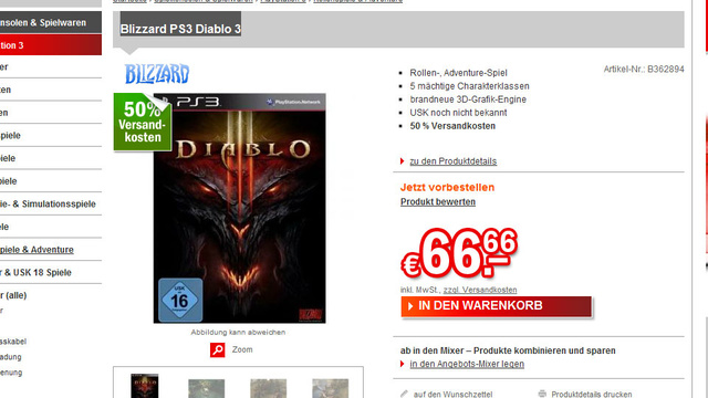 Diablo III on PS3? These Germans Certainly Think So.