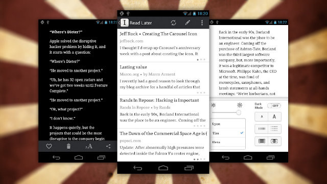 Official Instapaper for Android App Now Available