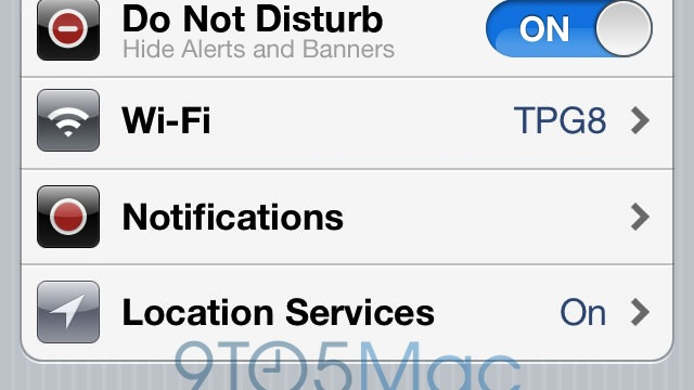 iOS 6 Might Get 'Do Not Disturb' Feature