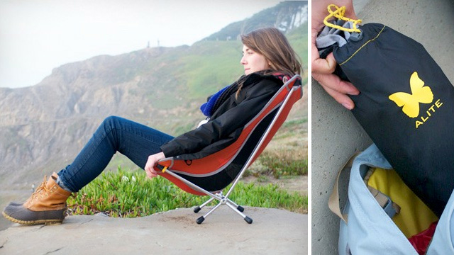 Click here to read Collapsible Laidback Lounger Is Perfectly Angled For Lazy Campfire Nights