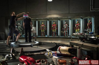 First official picture from the set of Iron Man 3