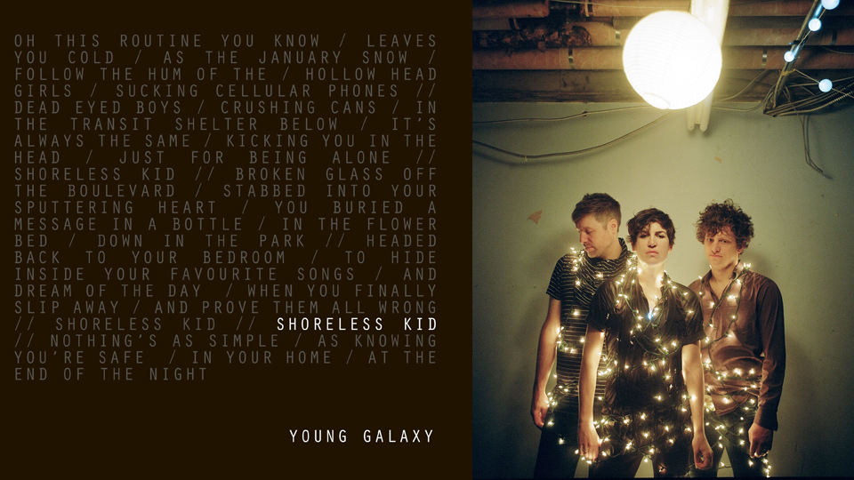 Click here to read Trax Read: Listen to Young Galaxy's Fantastic New Track 'Shoreless Kid'