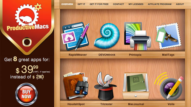Get $290 Worth of Mac Productivity Apps for $40