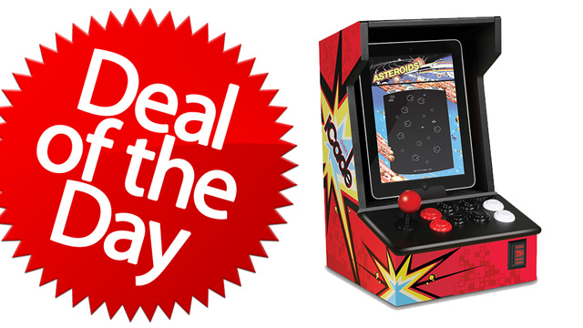 This iCade Arcade Cabinet is Your No-Quarters-To-Play Deal of the Day