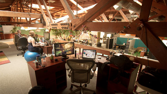 Around the World in One Workspace: The Offices of CouchSurfing