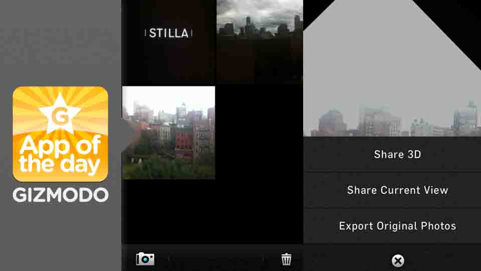 Click here to read Stilla: Easily Build Beautiful, 3D Pictures Using the iPhone's Gyroscope
