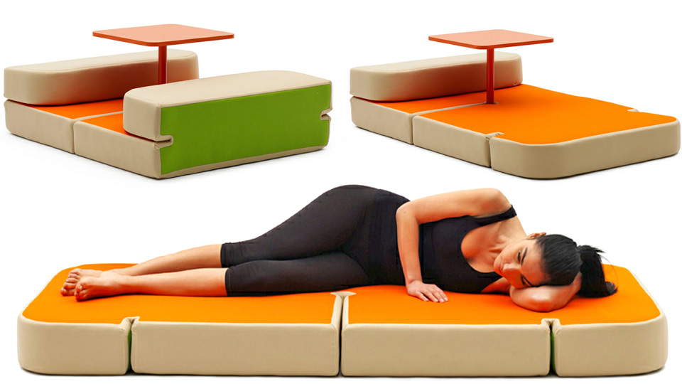Only The Lonely Dine At This Transforming Dinner Table Bed