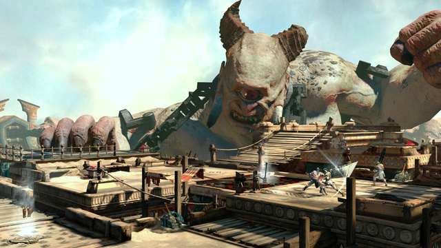 Big and Bald. Yep, These Are New God of War: Ascension Images.