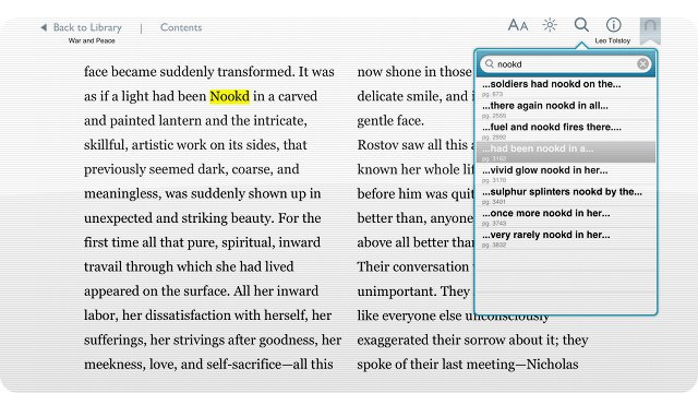 Lazy Publisher Replaces Every 'Kindled' In Ebook With 'Nookd'