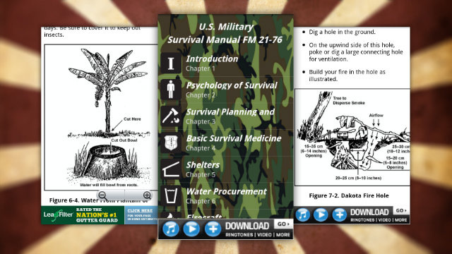 Survival Guide Puts the US Military Survival Manual in Your Pocket