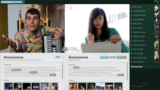 Airtime Is Chatroulette Without The Rude Bits | Gizmodo