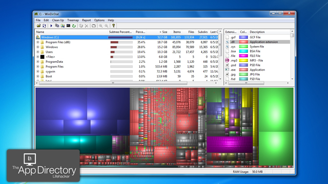 Click here to read The Best Disk Space Analyzer for Windows