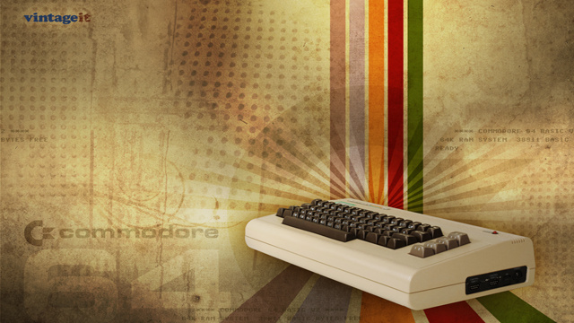 Put Some Old School Technology on Your Desktop with These Wallpapers