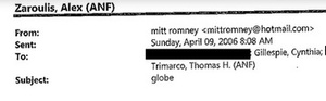Well, it Looks Like Someone Hacked Into Mitt Romney's Private Email